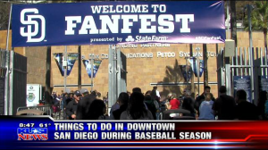 Events During Padres Games