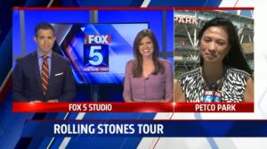 Fox 5 Rolling Stones