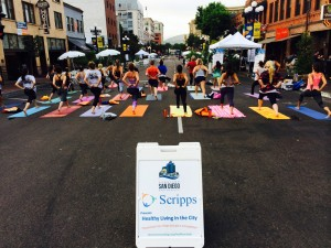 PARK(ing) Day Scripps Yoga