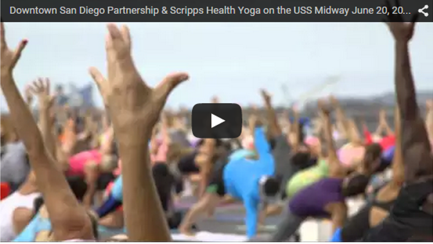 yoga on the midway video