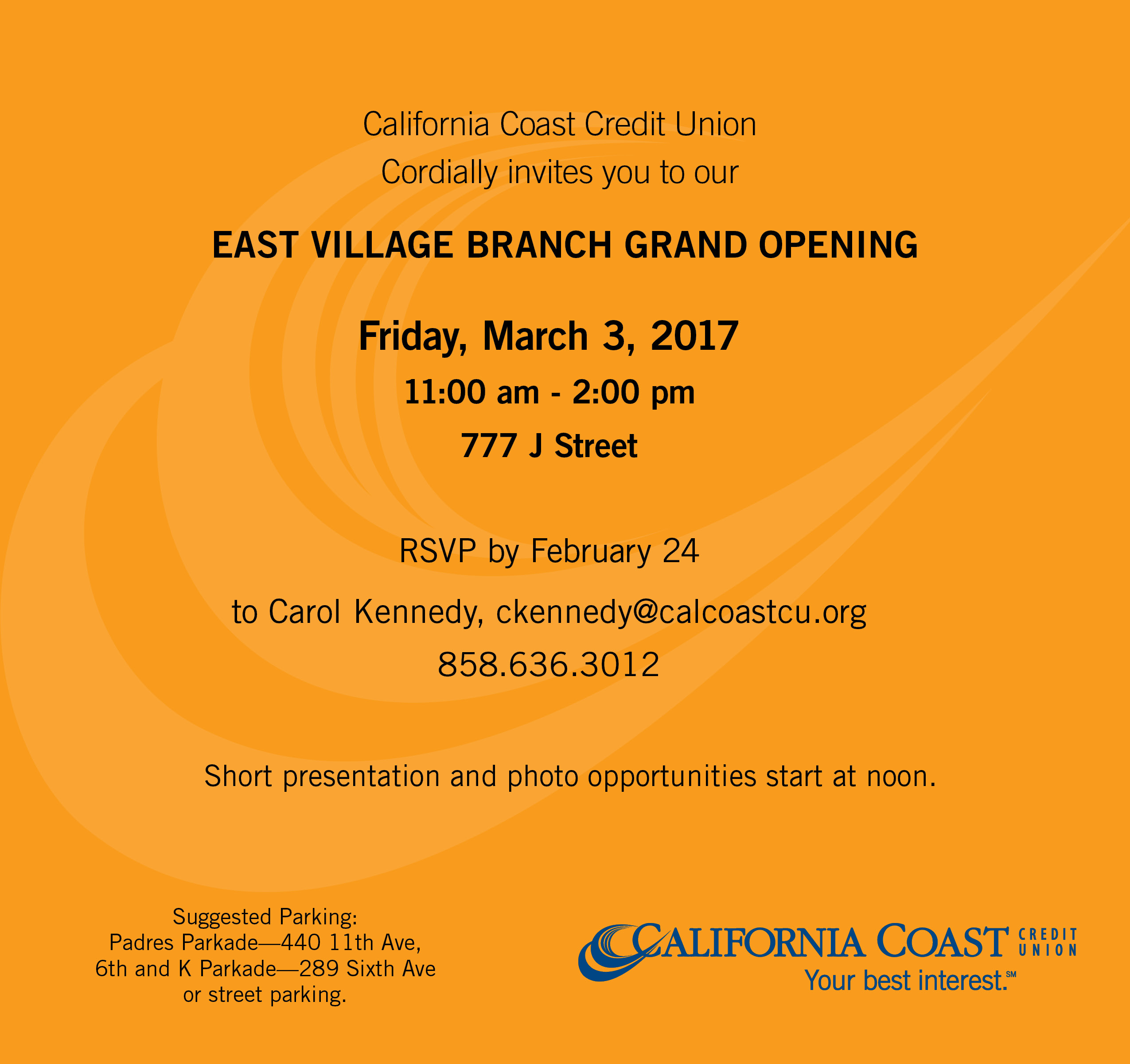 Partners Credit Union Branch: Downtown San Diego Partnership