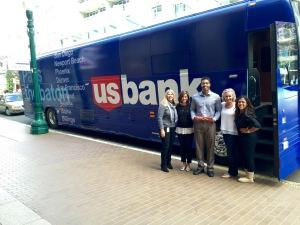 US bank bus